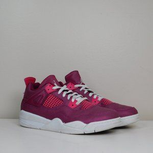 Nike Air Jordan 4 Retro True Berry Rush Shoes 2Y